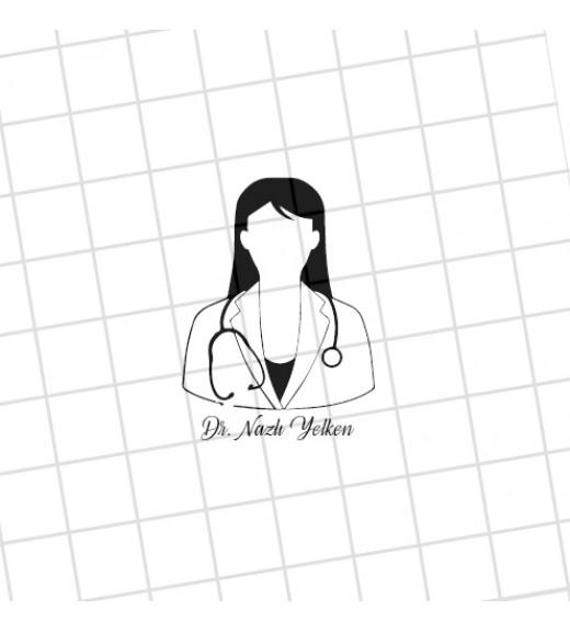 Bayan Doktor - İsme Özel Mühür