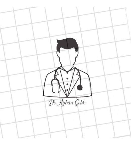 Doktorlar İçin İsme Özel Damga