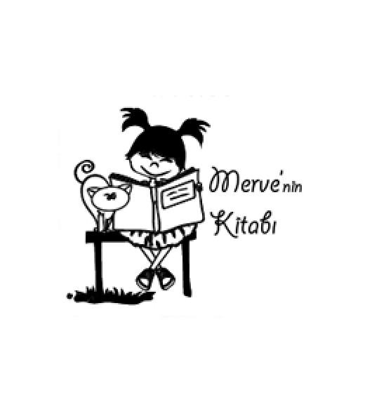 Kitap Okuyan Kız ve Kedi - Kitap kurtları bunu damgayı çok sevecek