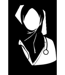 İsme Özel Mühür - Tesettürlü Doktor Modeli