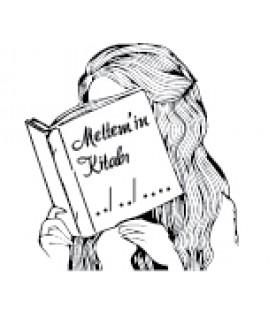 Kitap Okuyan Kız - İsme Özel Mühür