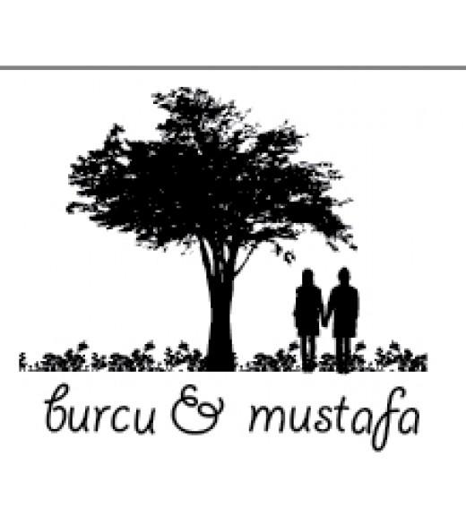 Ağaç Altındaki Çift - İsme Özel Mühür