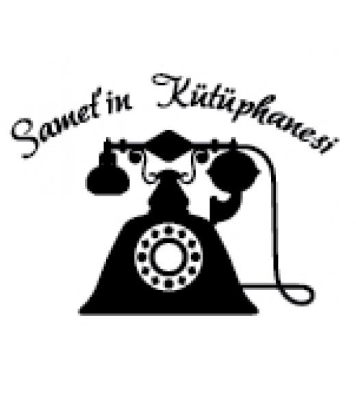 Nostaljik Telefon İsme Özel Mühür