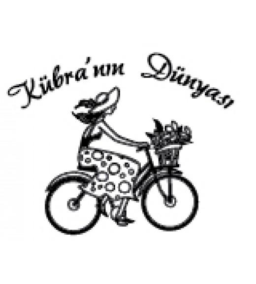 Bisikletli Kız - Kişiye Özel Damga
