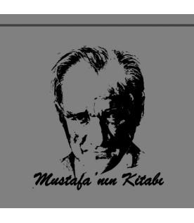 Mustafa Kemal Atatürk Portresi - İsme Özel Damga
