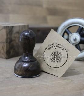 Pusula İsimli Damga -  Exlibris Stamp