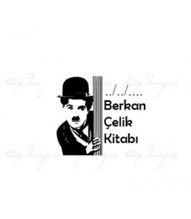 Charlie Chaplin - Kişiye Özel Damga