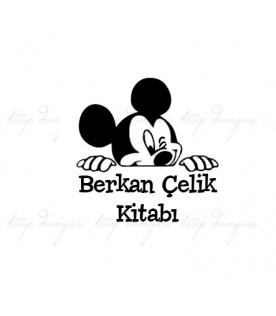 Mickey Mouse - İsme Özel Damga