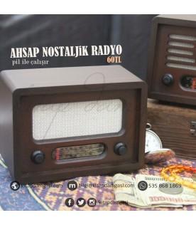 Ahşap Nostaljik Radyo