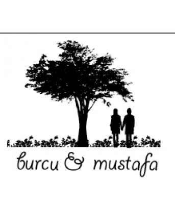İsme Özel Mühür - Ağaç Altındaki Çift