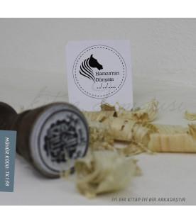 At Kafası -  Exlibris Stamp